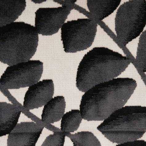 Camengo Inspirations Fabrics Creativite Fabric - Black - 32610679