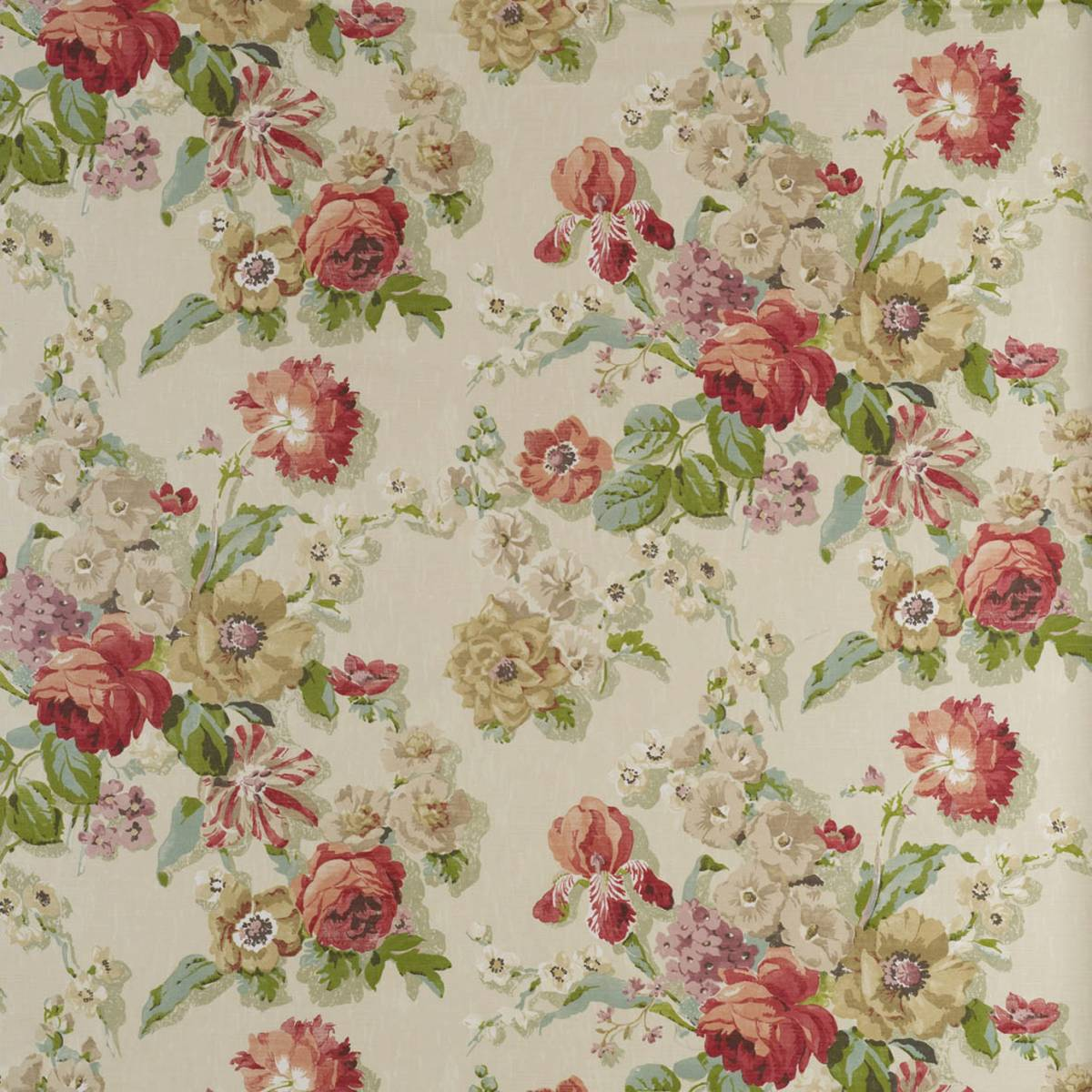 Fairfield Fabric Chintz Fairfieldchintz Warwick