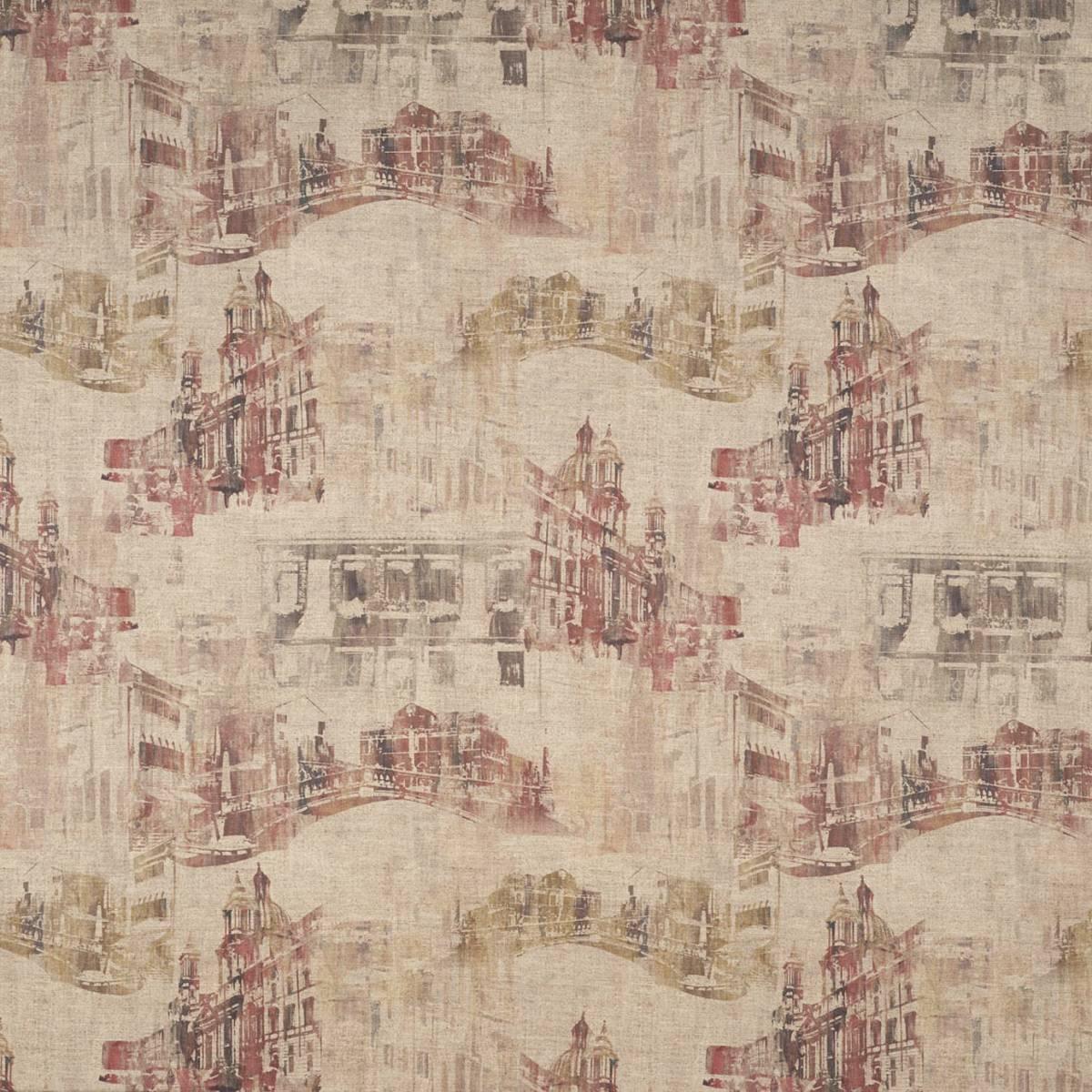 Firenze Fabric Umber Firenzeumber Warwick
