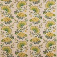 Chinoiserie Fabric - Salvia