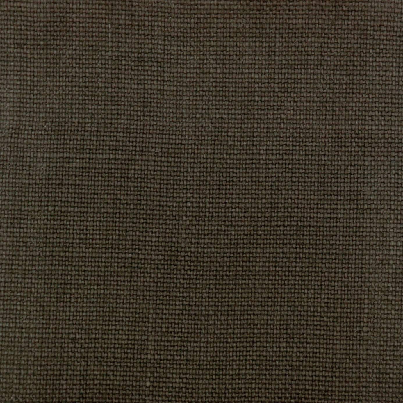 Slubby Linen Fabric Walnut Slubby Linen Walnut
