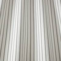 Ticking Stripe Fabric - Charcoal