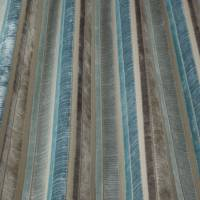 Imperio Stripe Fabric - Teal