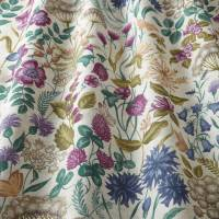 Field Flowers Fabric - Elderberry
