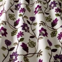 Kelty Crewel Fabric - Elderberry