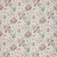Country Manor Fabric - Ruby