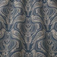 Song Thrush Fabric - Dusk