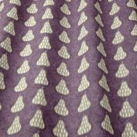 Scandi Pears Fabric - Violet