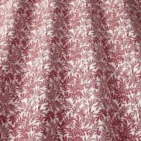 Leaf Vine Fabric - Rouge