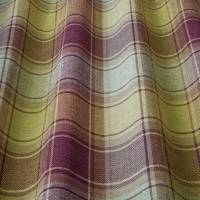 Argyle Fabric - Mulberry