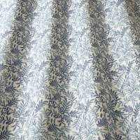 Leaf Vine Fabric - Indigo