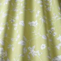 Etched Vine Fabric - Fern