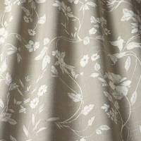 Etched Vine Fabric - Linen