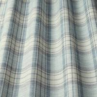 Shaker Check Fabric - Wedgwood