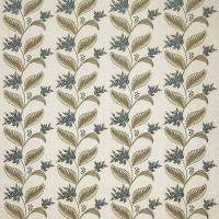 Berry Vine Fabric - Dove