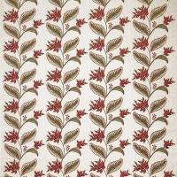 Berry Vine Fabric - Ruby