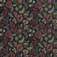 Summer Fruits Fabric - Indigo