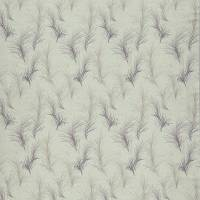 Feather Boa Fabric - Heather