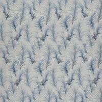 Feather Boa Fabric - Midnight