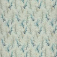 Feather Boa Fabric - Spa