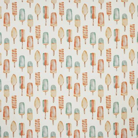 iLiv Sea & Sand Fabrics Ice Lollies Fabric - Aqua - ICELOLLIESAQUA