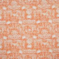 Seahorses Fabric - Coral