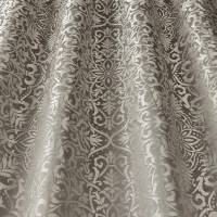 Brocade Fabric - Ash Grey