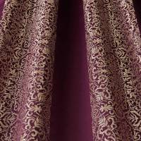 Brocade Stripe Fabric - Amethyst