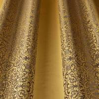 Brocade Stripe Fabric - Maize
