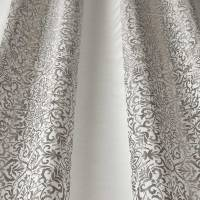 Brocade Stripe Fabric - Oyster