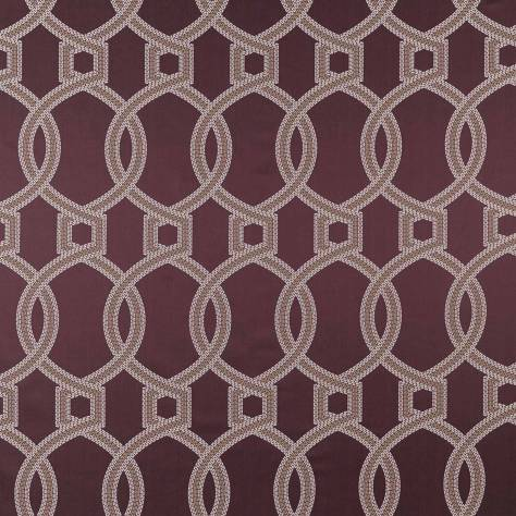 iLiv Isadore Fabrics Colonnade Fabric - Amethyst - COLONNADEAMETHYST - Image 2