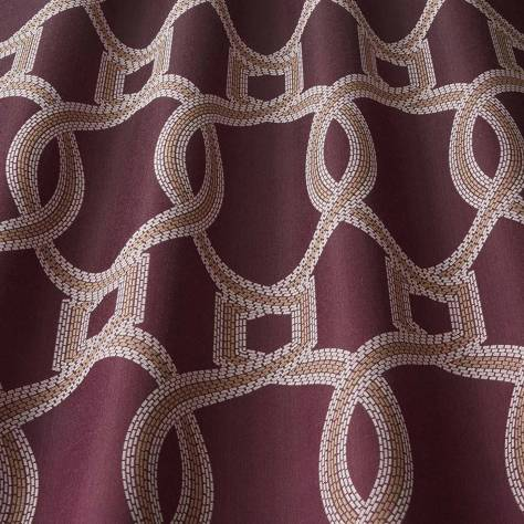iLiv Isadore Fabrics Colonnade Fabric - Amethyst - COLONNADEAMETHYST - Image 1