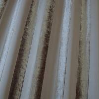 Boheme Stripe Fabric - Mocha