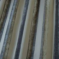 Boheme Stripe Fabric - Granite