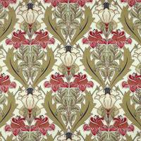 Acanthus Fabric - Cherry