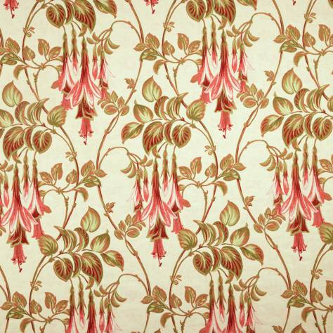 iLiv Art Deco Cherry Fabrics  Liberty Fabric - Cherry - LIBERTYCHERRY
