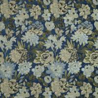 Winterbourne Fabric - Navy