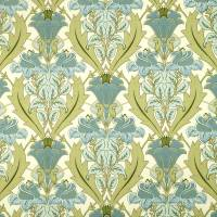 Acanthus Fabric - Cornflower