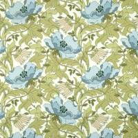 Art Deco Fabric - Cornflower
