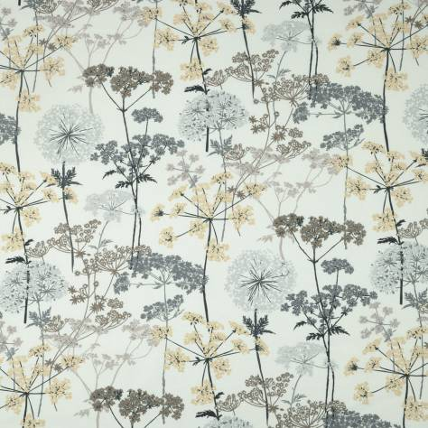 iLiv Meadow Charcoal Fabrics  Hedgerow Fabric - Charcoal - HEDGEROWCHARCOAL