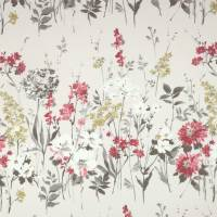 Wild Meadow Fabric - Ruby