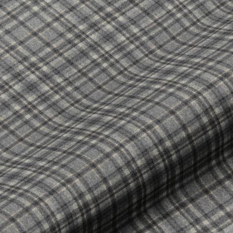 Art of the Loom Springtime Fabrics Harrogate Plaid Fabric - Grey/Black - HARROGATEPLAIDGREY/BLACK