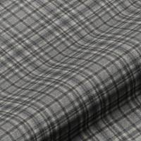 Harrogate Plaid Fabric - Grey/Black