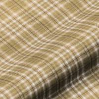 Harrogate Plaid Fabric - Natural/Green