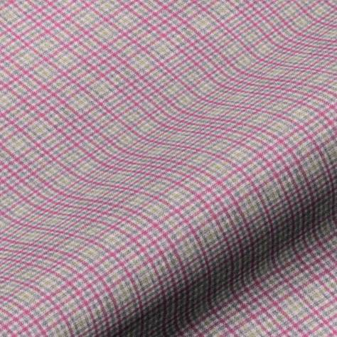 Art of the Loom Springtime Fabrics Ilkley Fabric - Fuchsia/Grey - ILKLEYFUCHSIA/GREY