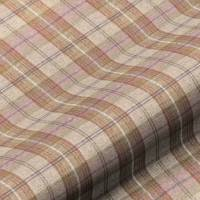 Wool Plaid Fabric - Peartree