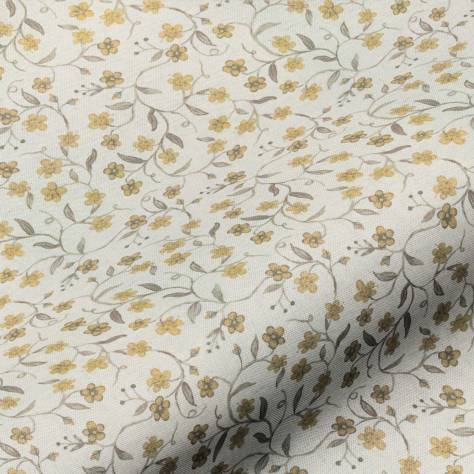 Art of the Loom Balmoral Fabrics Tori Ditsy Fabric - Gold - TORIDITSYGOLD