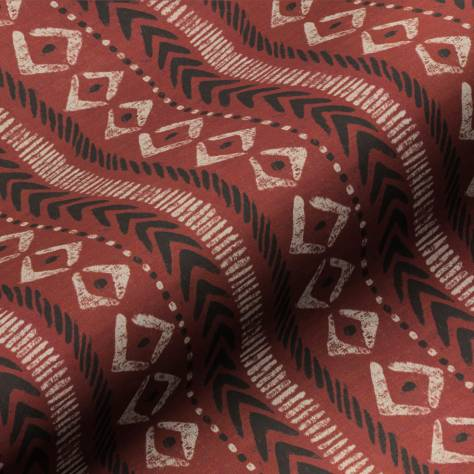 Art of the Loom Serengeti Fabrics Adumu Fabric - Red - ADUMURED
