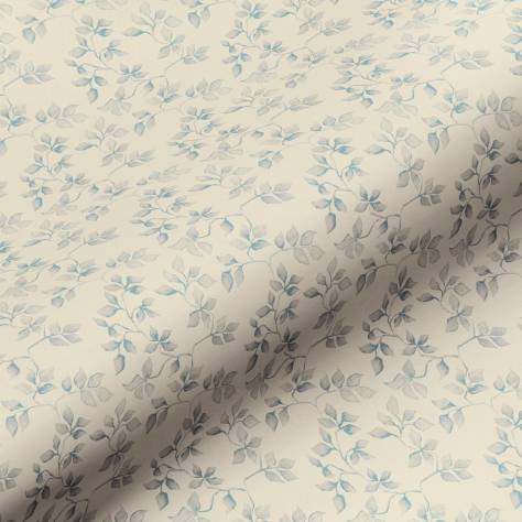 Art of the Loom Ditsys Fabrics Ivy Fabric - French Blue - IVYFRENCHBLUE