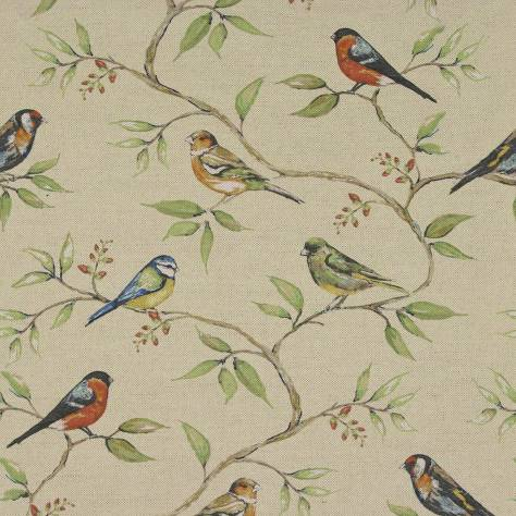 Art of the Loom In the Summer Time Fabrics Dawn Chorus Fabric - Apple - DAWNCHORUSAPPLE